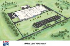 MAPLE LEAF FOODS MEAT PROCESSING PLANT HAMILTON, ONTARIO
